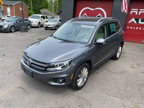 2013 Volkswagen Tiguan for sale at Apple Auto Sales Inc in Camillus NY