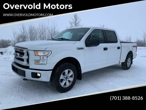 2015 Ford F-150 for sale at Overvold Motors in Detroit Lakes MN
