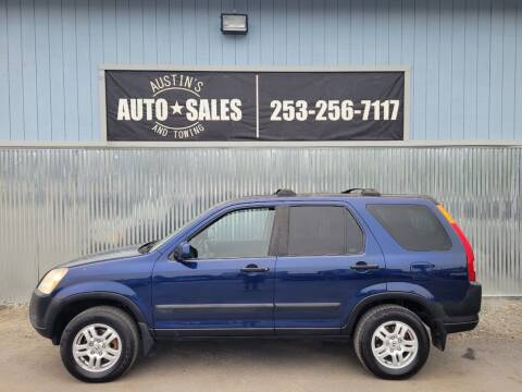 2003 Honda CR-V for sale at Austin's Auto Sales in Edgewood WA