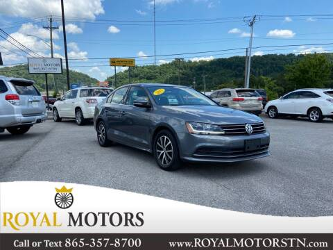 2017 Volkswagen Jetta for sale at ROYAL MOTORS LLC in Knoxville TN