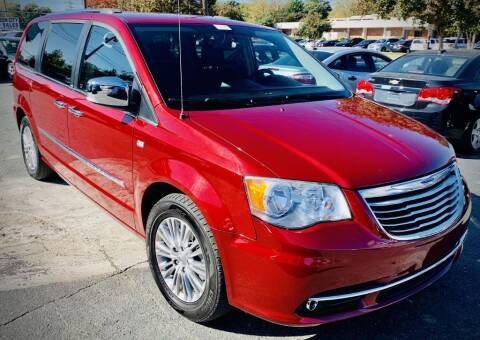 2014 Chrysler Town and Country for sale at RD Motors, Inc in Charlotte NC