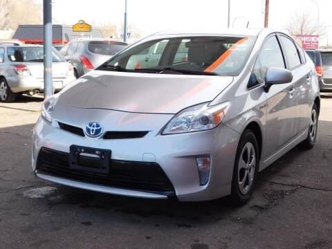 2012 Toyota Prius for sale at INFINITE AUTO LLC in Lakewood CO