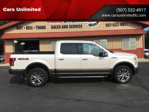 2015 Ford F-150 for sale at Cars Unlimited in Marshall MN