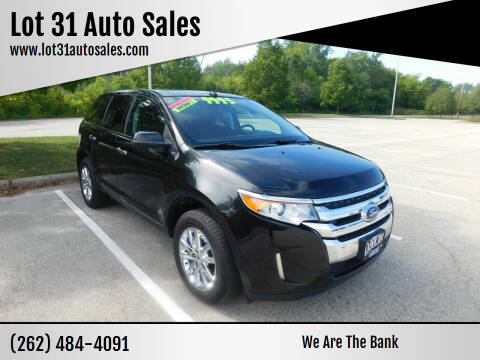 2011 Ford Edge for sale at Lot 31 Auto Sales in Kenosha WI