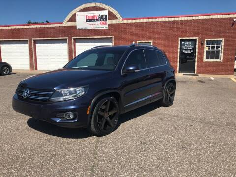 2016 Volkswagen Tiguan for sale at Family Auto Finance OKC LLC in Oklahoma City OK