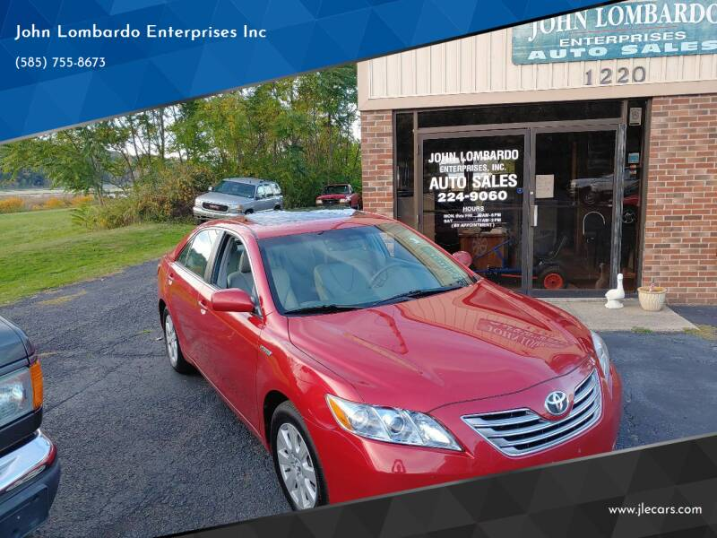 2007 Toyota Camry Hybrid for sale at John Lombardo Enterprises Inc in Rochester NY