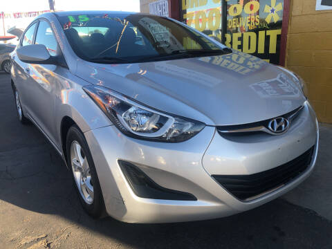 2015 Hyundai Elantra for sale at Sunday Car Company LLC in Phoenix AZ