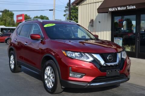 2020 Nissan Rogue for sale at Nick's Motor Sales LLC in Kalkaska MI