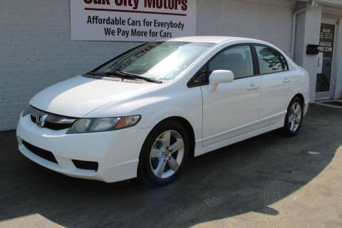 2010 Honda Civic for sale at Oak City Motors in Garner NC