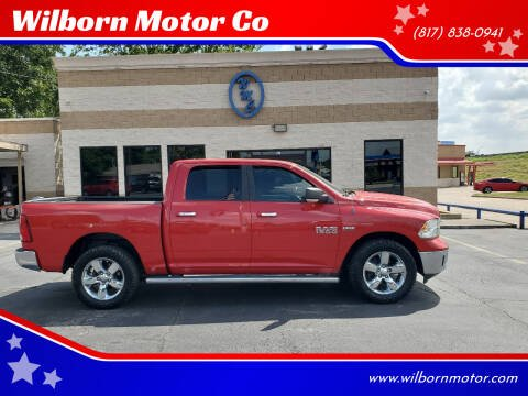 2013 RAM Ram Pickup 1500 for sale at Wilborn Motor Co in Fort Worth TX