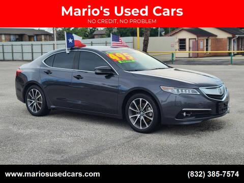 2016 Acura TLX for sale at Mario's Used Cars - Pasadena Location in Pasadena TX