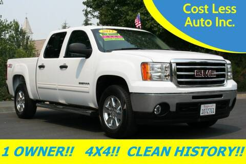 2012 GMC Sierra 1500 for sale at Cost Less Auto Inc. in Rocklin CA
