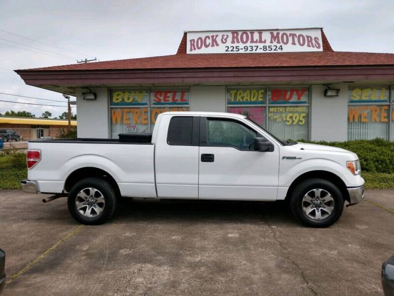 2011 Ford F-150 for sale at Rock & Roll Motors in Baton Rouge LA