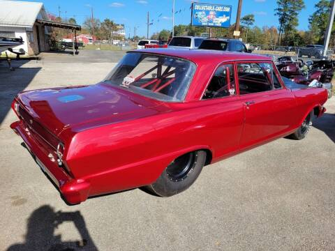 1964 Chevrolet Nova for sale at COLLECTABLE-CARS LLC in Nacogdoches TX