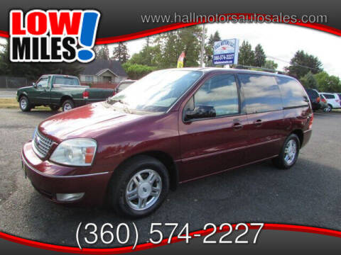 2006 Ford Freestar for sale at Hall Motors LLC in Vancouver WA