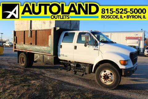 2000 Ford F-750 Super Duty for sale at AutoLand Outlets Inc in Roscoe IL