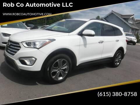 2014 Hyundai Santa Fe for sale at Rob Co Automotive LLC in Springfield TN