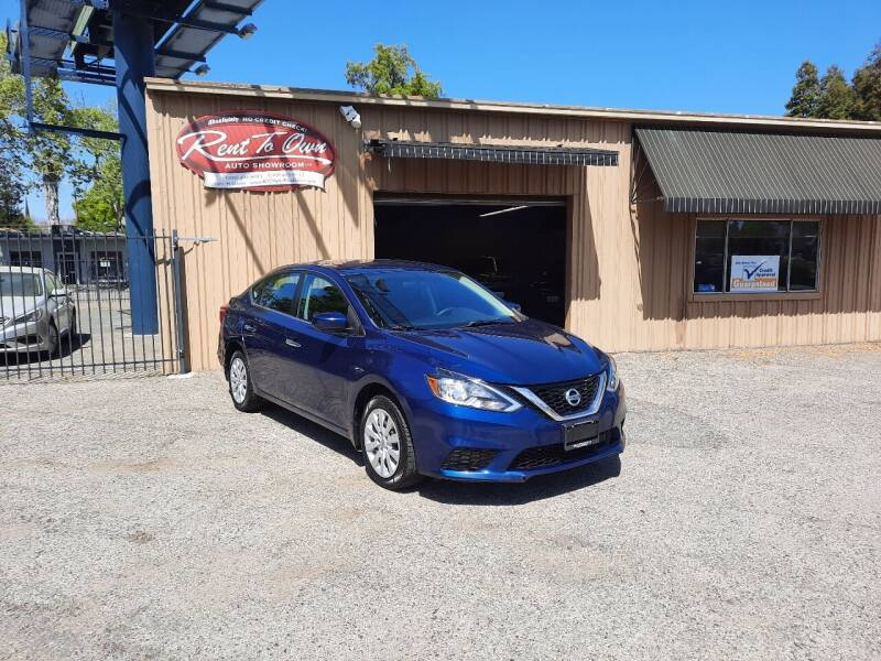 2018 Nissan Sentra for sale at Rent To Own Auto Showroom LLC - Finance Inventory in Modesto CA