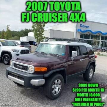 2007 Toyota FJ Cruiser for sale at D&D Auto Sales, LLC in Rowley MA