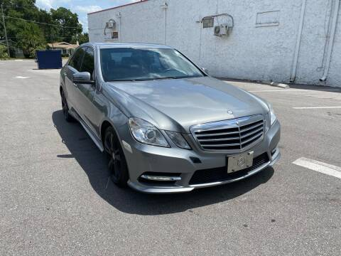 2013 Mercedes-Benz E-Class for sale at LUXURY AUTO MALL in Tampa FL