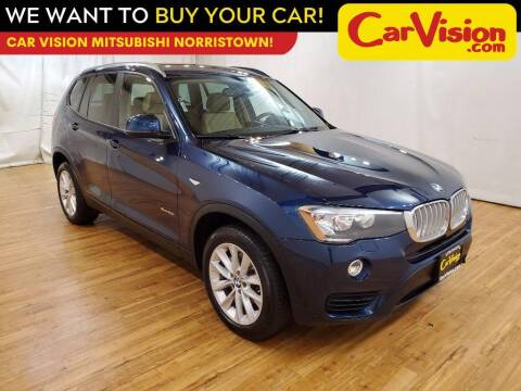 2017 BMW X3 for sale at Car Vision Mitsubishi Norristown in Trooper PA