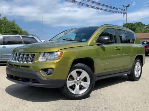 2012 Jeep Compass for sale at Elite Motors in Uniontown PA