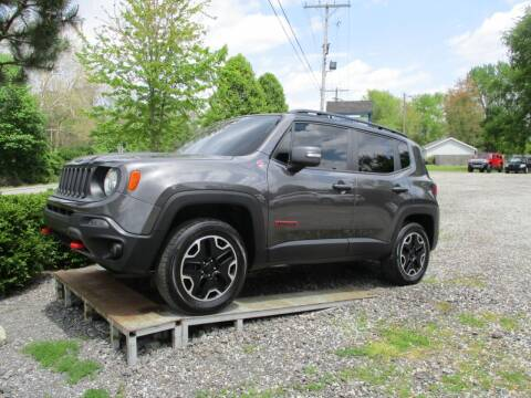 2016 Jeep Renegade for sale at PENDLETON PIKE AUTO SALES in Ingalls IN