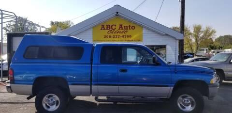 1998 Dodge Ram Pickup 1500 for sale at ABC AUTO CLINIC - Chubbuck in Chubbuck ID