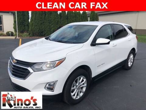 2020 Chevrolet Equinox for sale at Rino's Auto Sales in Celina OH