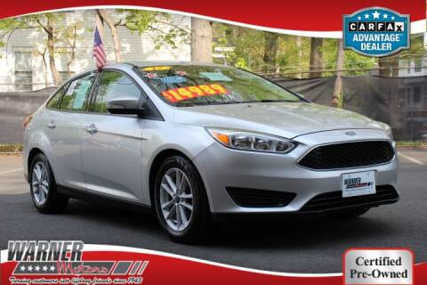 2017 Ford Focus for sale at Warner Motors in East Orange NJ