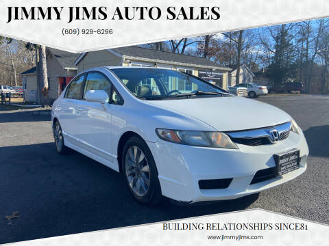2011 Honda Civic for sale at Jimmy Jims Auto Sales in Tabernacle NJ