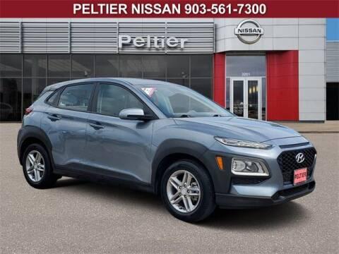 2019 Hyundai Kona for sale at TEX TYLER Autos Cars Trucks SUV Sales in Tyler TX