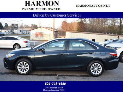 2016 Toyota Camry for sale at Harmon Premium Pre-Owned in Benton AR