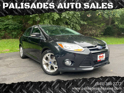 2012 Ford Focus for sale at PALISADES AUTO SALES in Nyack NY
