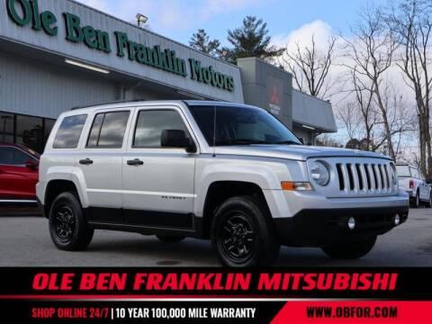 2013 Jeep Patriot for sale at Ole Ben Franklin Mitsbishi in Oak Ridge TN