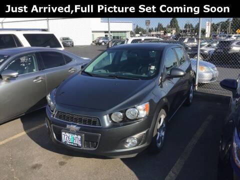 2014 Chevrolet Sonic for sale at Royal Moore Custom Finance in Hillsboro OR