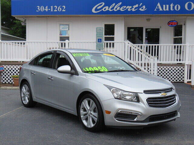 2015 Chevrolet Cruze for sale at Colbert's Auto Outlet in Hickory NC
