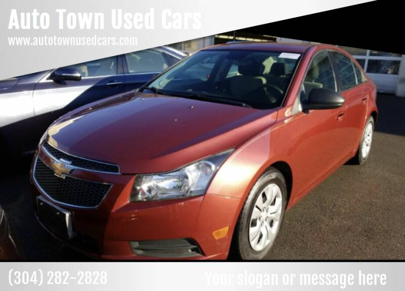 2013 Chevrolet Cruze for sale at Auto Town Used Cars in Morgantown WV