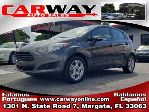 2015 Ford Fiesta for sale at CARWAY Auto Sales in Margate FL