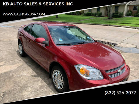 2008 Chevrolet Cobalt for sale at KB AUTO SALES & SERVICES INC in Houston TX