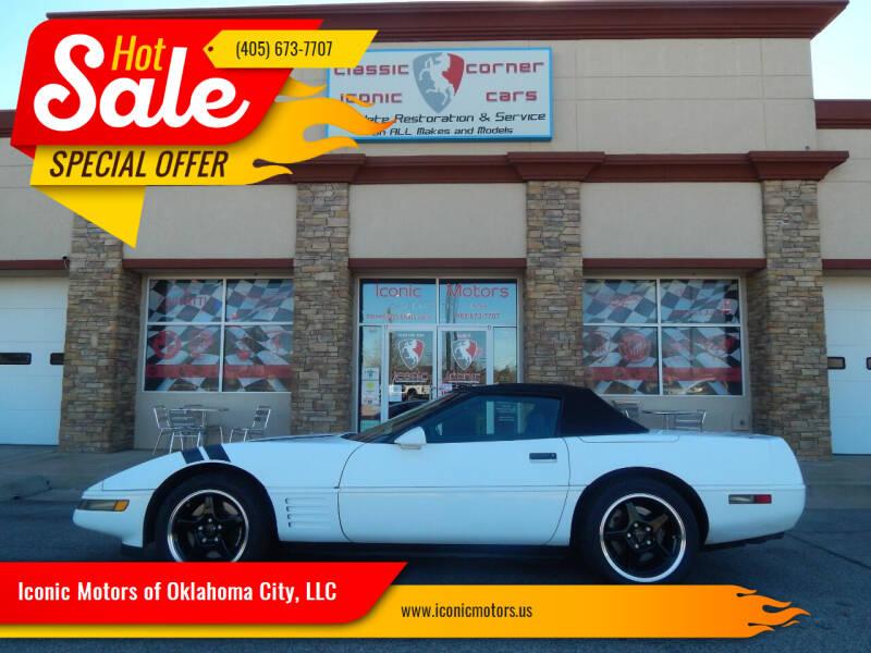 1993 Chevrolet Corvette for sale at Iconic Motors of Oklahoma City, LLC in Oklahoma City OK