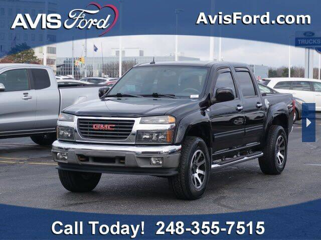 2011 GMC Canyon for sale at Work With Me Dave in Southfield MI