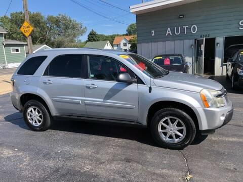 2005 Chevrolet Equinox for sale at SHEFFIELD MOTORS INC in Kenosha WI
