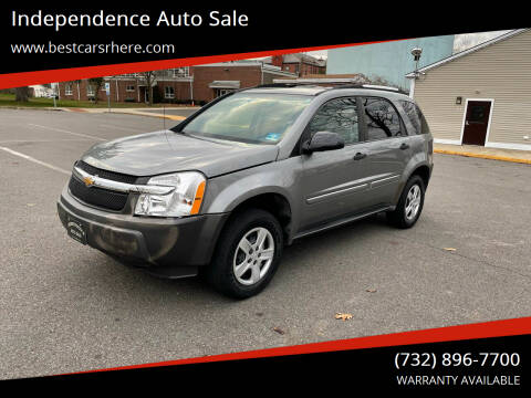 2005 Chevrolet Equinox for sale at Independence Auto Sale in Bordentown NJ