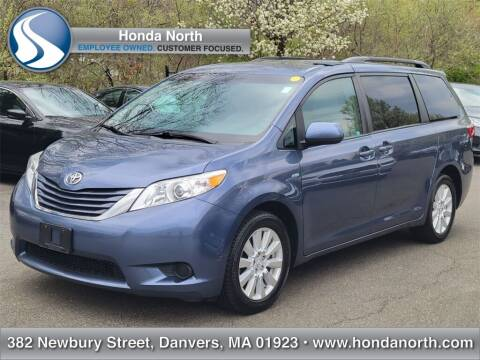 2017 Toyota Sienna for sale at 1 North Preowned in Danvers MA