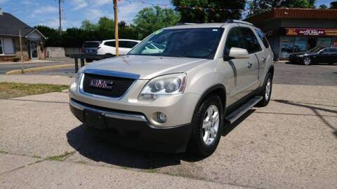 2010 GMC Acadia for sale at Lamarina Auto Sales in Dearborn Heights MI