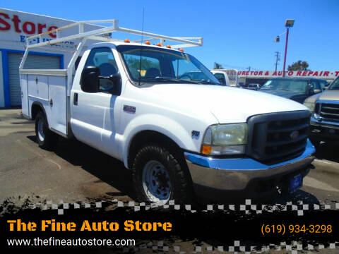 2002 Ford F-350 Super Duty for sale at The Fine Auto Store in Imperial Beach CA
