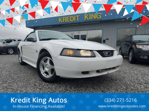 2004 Ford Mustang for sale at Kredit King Autos in Montgomery AL