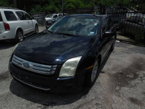 2008 Ford Fusion for sale at SCOTT HARRISON MOTOR CO in Houston TX