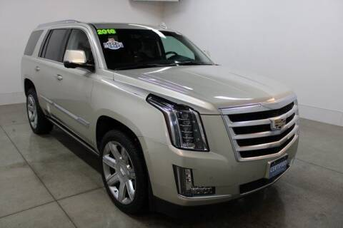 2016 Cadillac Escalade for sale at Bob Clapper Automotive, Inc in Janesville WI